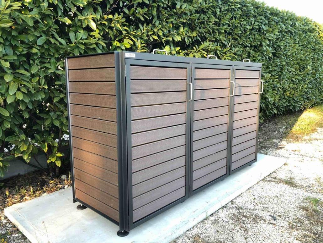 Box Per Bidoni Spazzatura ecobox design. sistema modulare per organizzazione